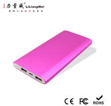 超薄聚合物移动电源 方形移动电源定制8000mAh充电宝 双USB输出