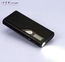 液晶显示LCD迷你移动电源15000m毫安通用充电宝