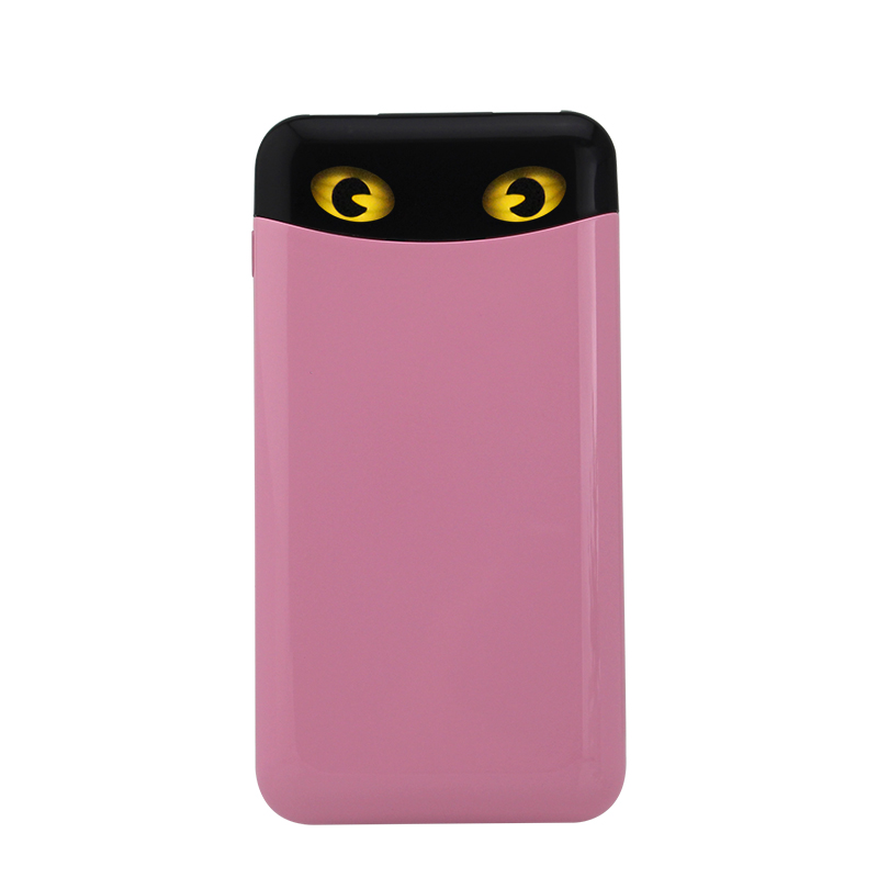 个性猫眼10000mAh聚合物手机充电宝2.1A快充超薄移动电源