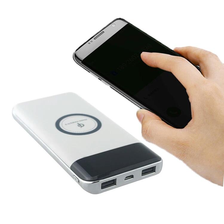 厂家直销 无线充移动电源带TYPE-C快充接口 10000毫安