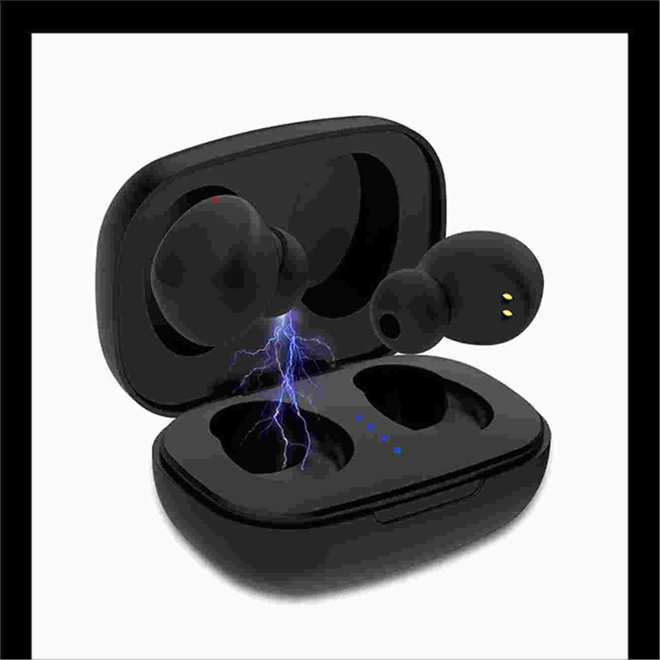 力量威 8BK-J39TWS无线蓝牙耳机 蓝牙5.0/轻巧便携/智能触摸/支持安卓、苹果手机